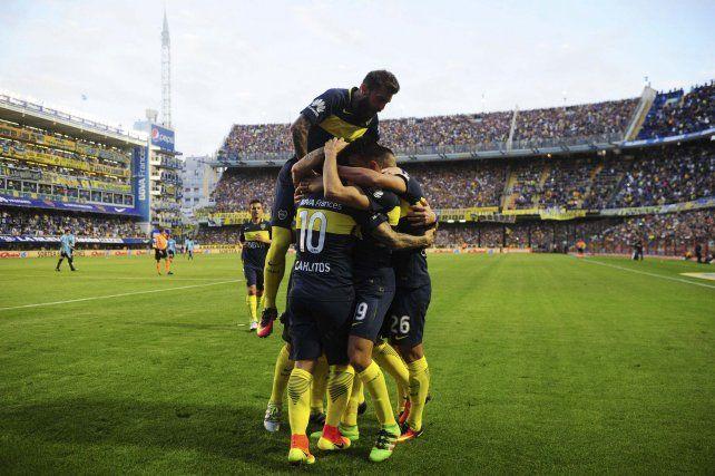 Boca goleó a Belgrano en la Bombonera