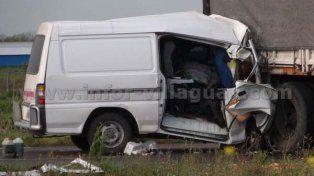 Una maniobra imprudente ocasionó dos muertos en la ruta 18