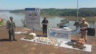 Secuestraron marihuana que era trasladada por el río Paraná