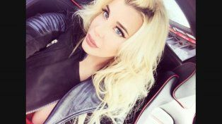 Charlotte Caniggia se filmó y lo subió a Instagram