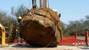 Hallan en Chaco un meteorito de más de 30 toneladas