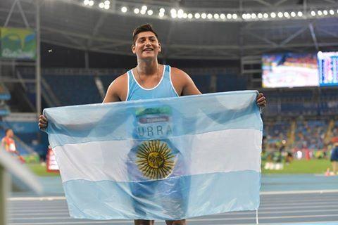Hernán Urra obtuvo la medalla de plata en lanzamiento de bala