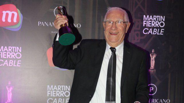 Martín Fierro de Cable 2016: Nelson Castro se llevó el Oro