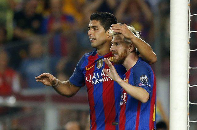 Barcelona goleó a Celtic por 7 a 0, con tres de Messi