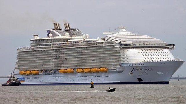 Una mujer murió durante un simulacro de seguridad en el crucero más grande del mundo