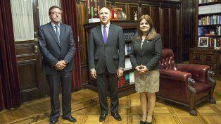 Guastavino y Kunath pidieron a Lorenzetti por los nuevos juzgados federales