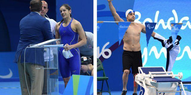 Báez y Carlomagno se traen diplomas de Río