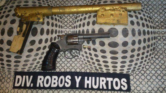 Pesquisa. Efectivos de Robos y Hurtos tenían el dato de las armas.