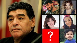 Apareció un supuesto sexto hijo de Diego Maradona