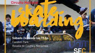 La primavera llegará con un campeonato de skate en Santa Fe