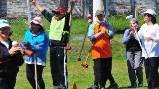 Transitar la tercera edad jugando al Golf Croquet es un gran plan