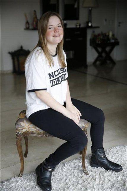 La batalla ganada de Sofía: tiene síndrome de Down y logró ser modelo