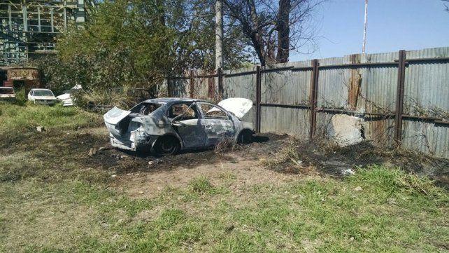 Apartado. Llamó la atención que el vehículo estaba alejado de los demás autos secuestrados.