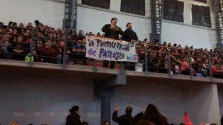 Protesta en Concepción del Uruguay por la presencia del presidente del CGE