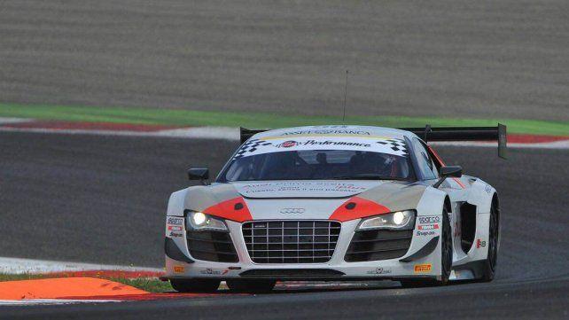 Una nave. El Audi que es piloteado por el paranaense Matías Russo viene respondiendo regularmente fecha a fecha.