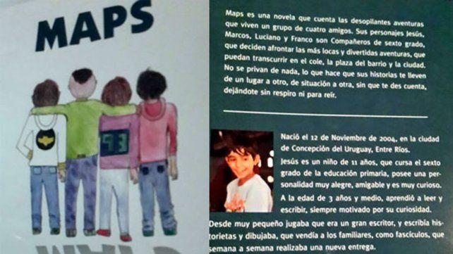 Un niño entrerriano que es amante de la lectura escribió un libro