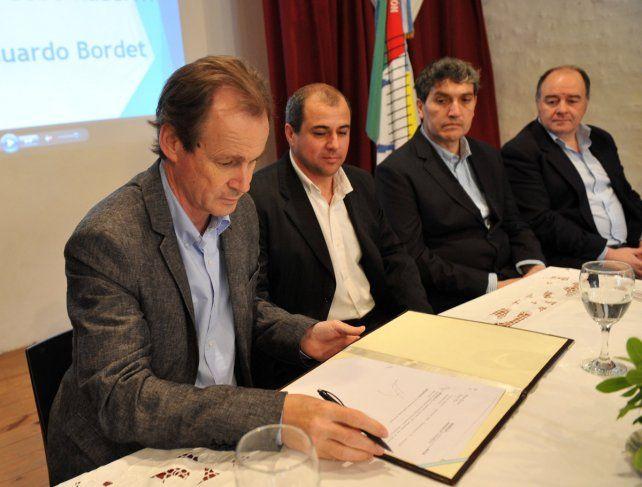 Bordet afirmó que su prioridad es cumplir con el mandato de las urnas