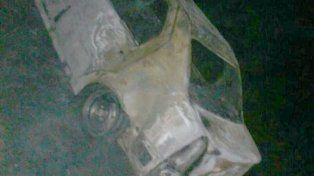 Encontraron un automóvil incendiado con una persona calcinada en su interior