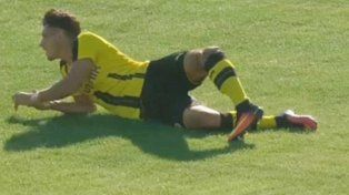 Escalofriante fractura en el fútbol europeo