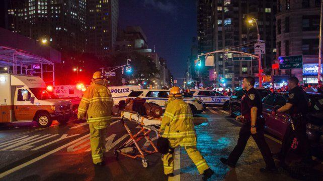 Al menos 25 personas heridas por una fuerte explosión en Nueva York