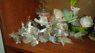 Secuestraron más de 1200 cigarrillos de marihuana en Concordia