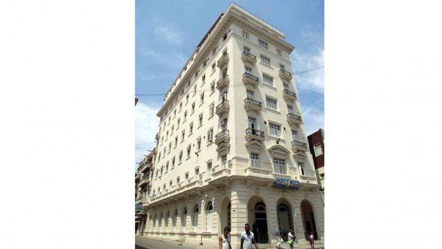 El Lincoln. El hotel desde donde lo sacaron los revolucionarios.