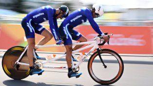 El ciclista de Caseros tuvo su debut en los Juegos y mostró un gran nivel ante las potencias.