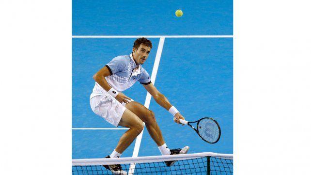 Pella cayó con Murray y la semifinal de la Copa Davis se definirá en el quinto punto