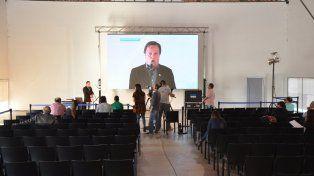 La videoconferencia. Desde Paraná