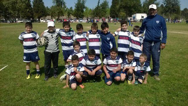 DESDE CORRALES. Categoría 2007 de el Club Universitario Paraná.