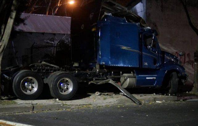 Camionero ebrio causó accidente en el que murieron dos personas
