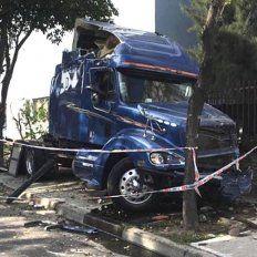 camionero ebrio causo accidente en el que murieron dos personas