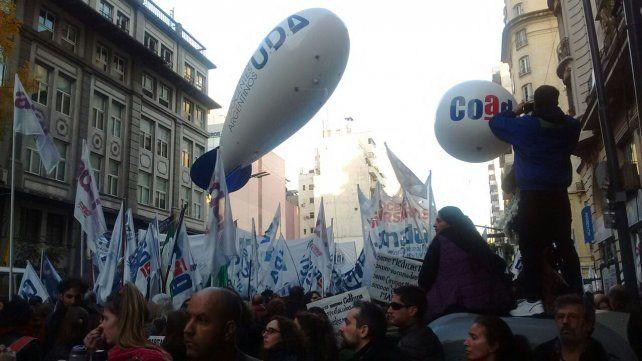 Docentes universitarios de Entre Ríos adhieren al paro del 4 de octubre
