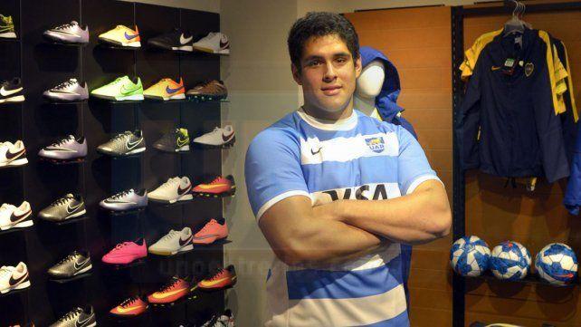 Saludos desde Rosario. El jugador de Duendes y Los Pumitas