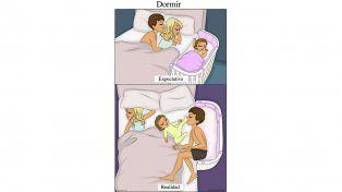 Estas situaciones de expectativa versus realidad acerca de tener un hijo te harán reír