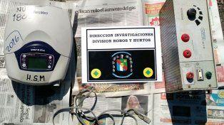Dos menores ofrecían para la venta equipos robados al hospital San Martín