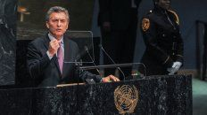 macri hablo en la onu y dijo que argentina quiere ser parte de la agenda global