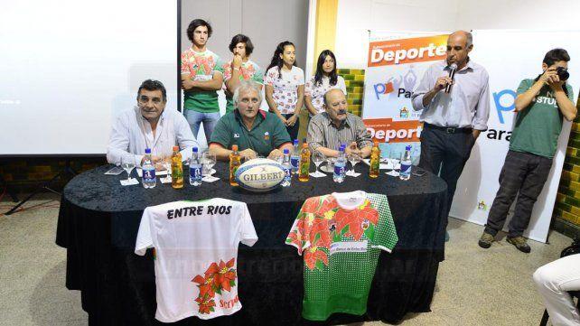 Los dirigentes se refirieron al buen presente que atraviesa el rugby de la provincia.