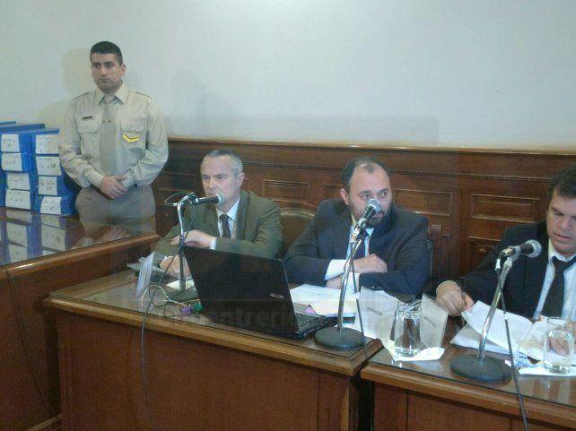 Una audiencia con medidas extremas de seguridad en la Cámara Federal