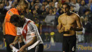 Ramiro gritando el gol clave de su carrera en La Bombera.