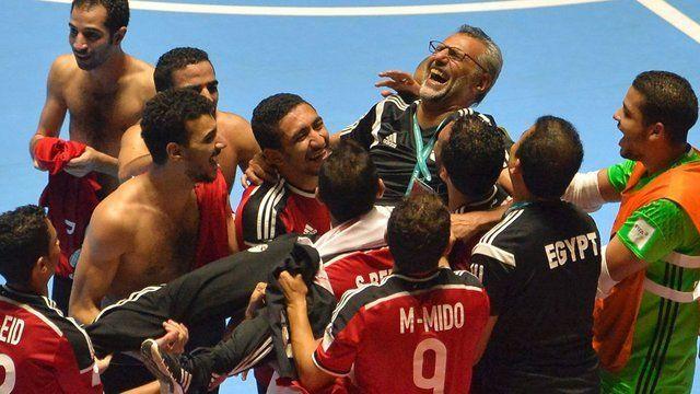 Argentina jugará los cuartos de final ante Egipto