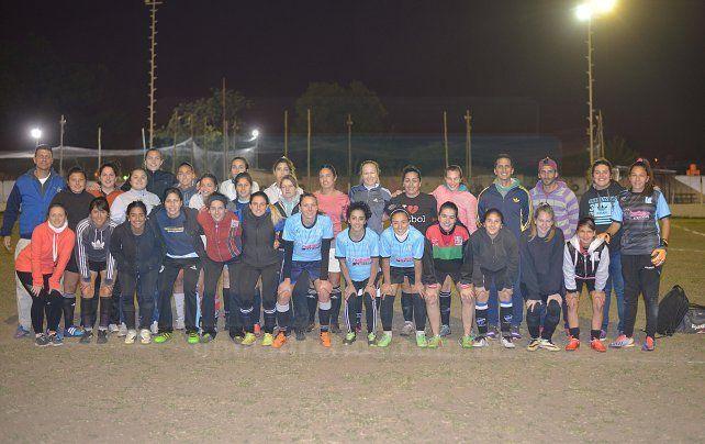 El seleccionado femenino de la LPF preparado para el debut nacional