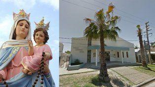 Devoción. En Santo Domingo Savio tienen una réplica de la Virgen de San Nicolás.