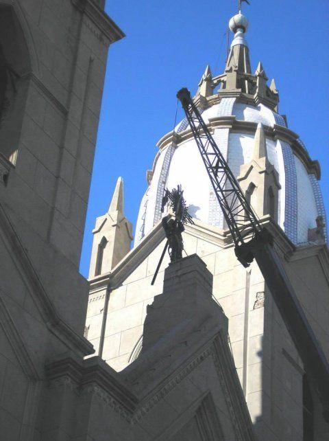 Patrimonio. La Fundación preserva el antiguo templo religioso.