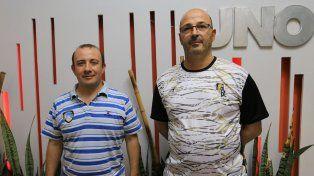 García Carbone y Fouces brindaron detalles de la actividad que se viene el 1º de octubre.