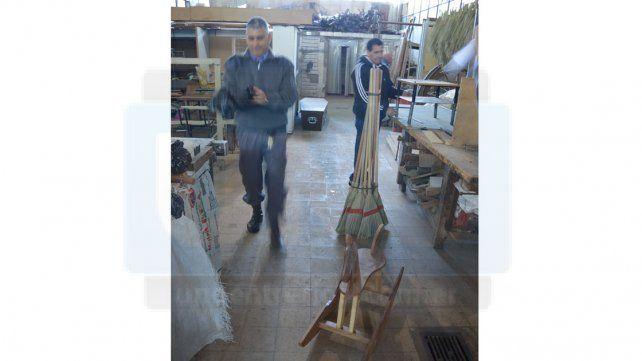 Taller de artesanías en madera