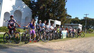 Solidaridad a pedal: en Ramírez harán jornada de cicloturismo  a total beneficio de Micaela Fiant