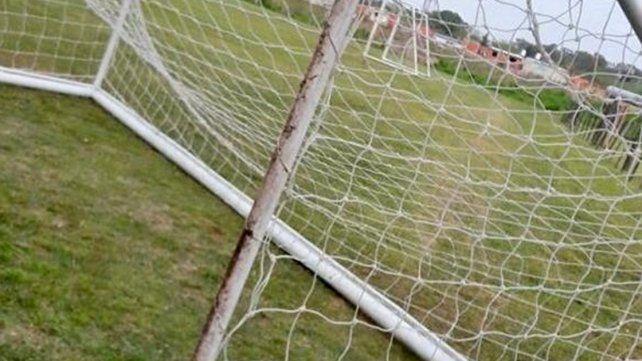 Drama en Pilar: a un chico de 14 años se le cayó un arco de fútbol en la cabeza y está grave