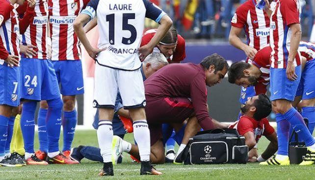 Augusto Fernández se rompió los ligamentos