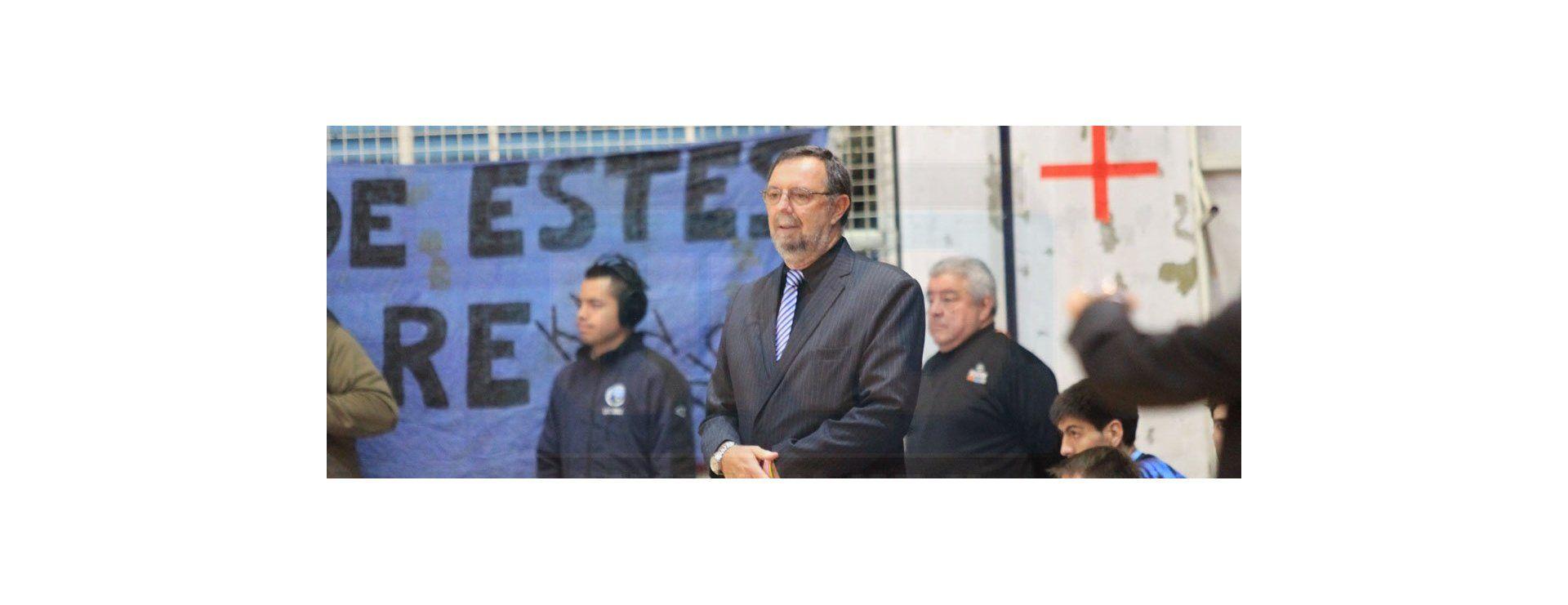 El entrenador de Echagüe